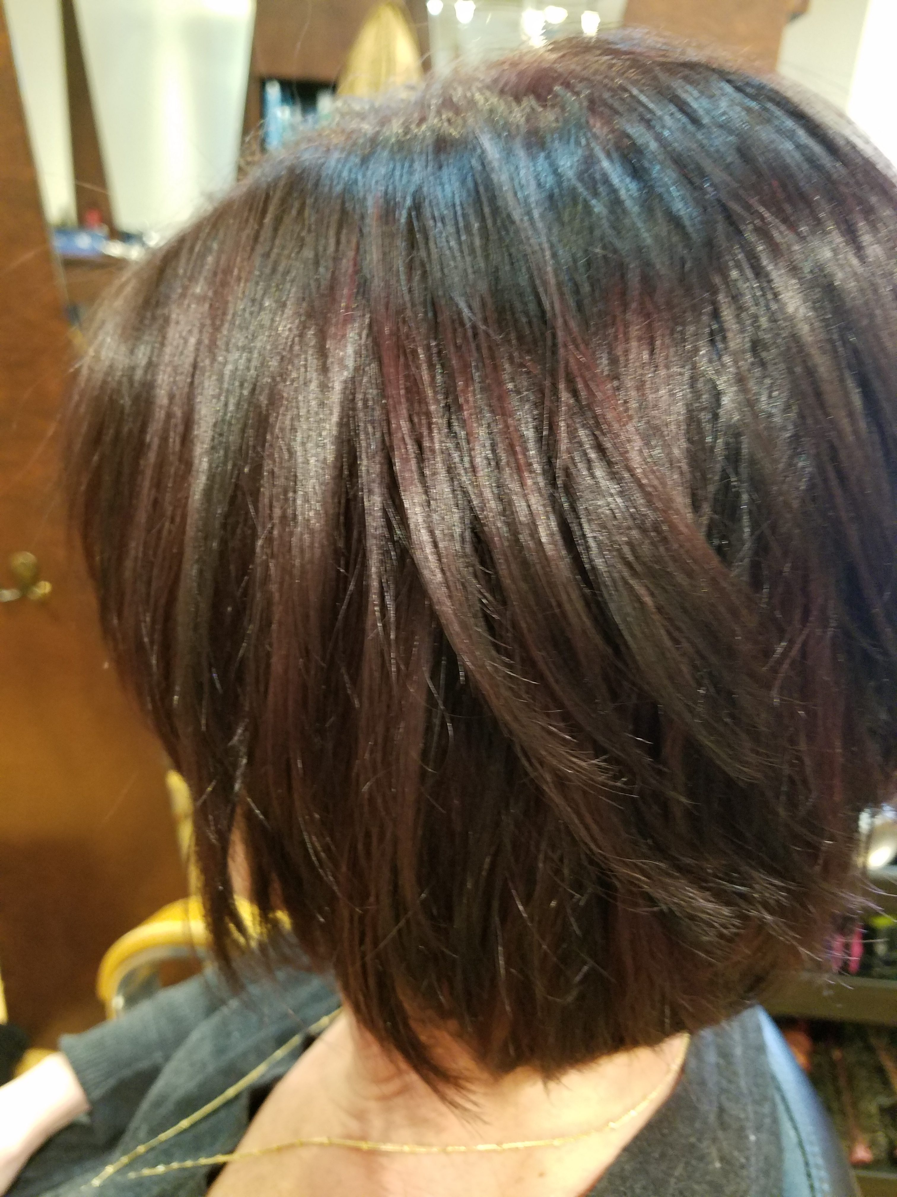 women color haircut